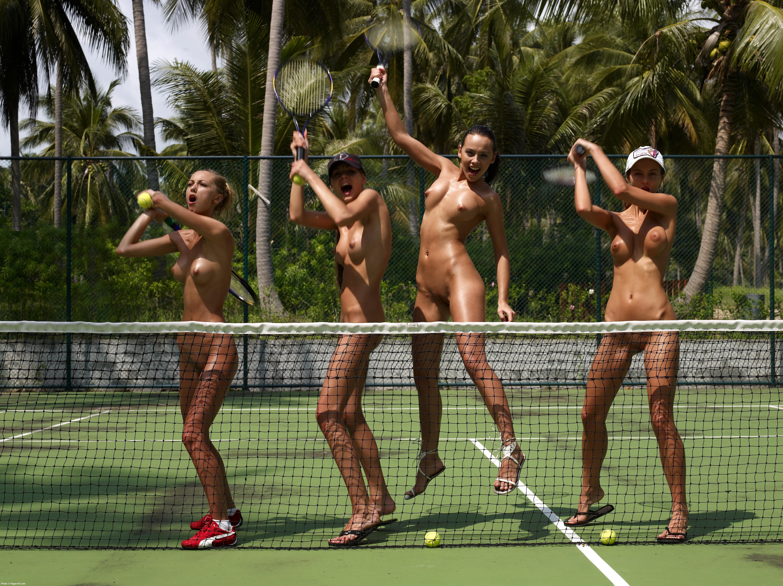 Случайные эротические фото на теннисе 4 фотография