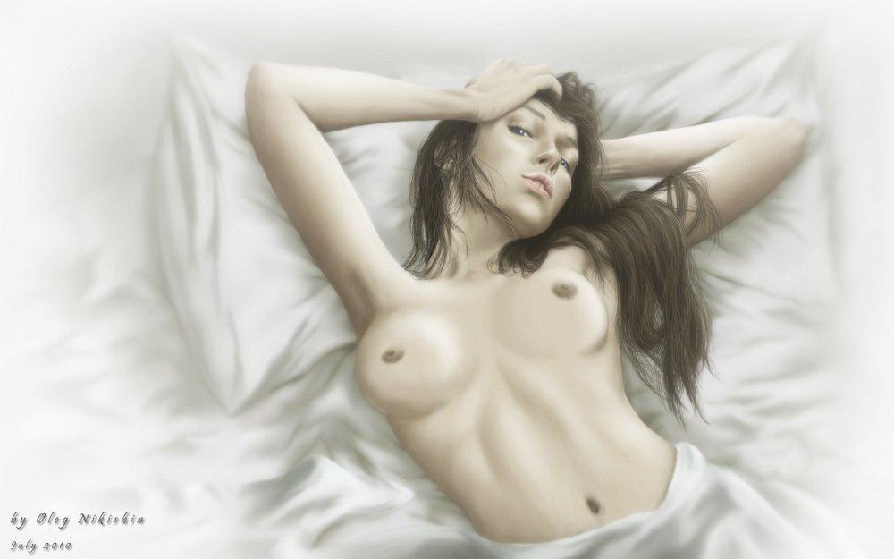 Эротический арт #9