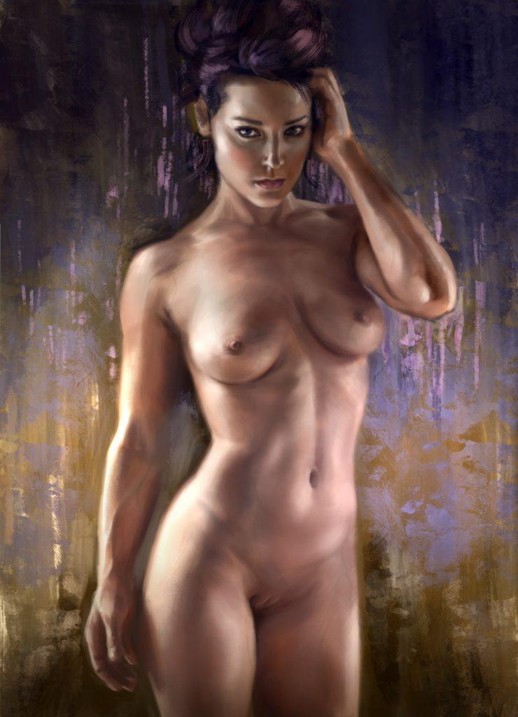 Эротические арт рисунки