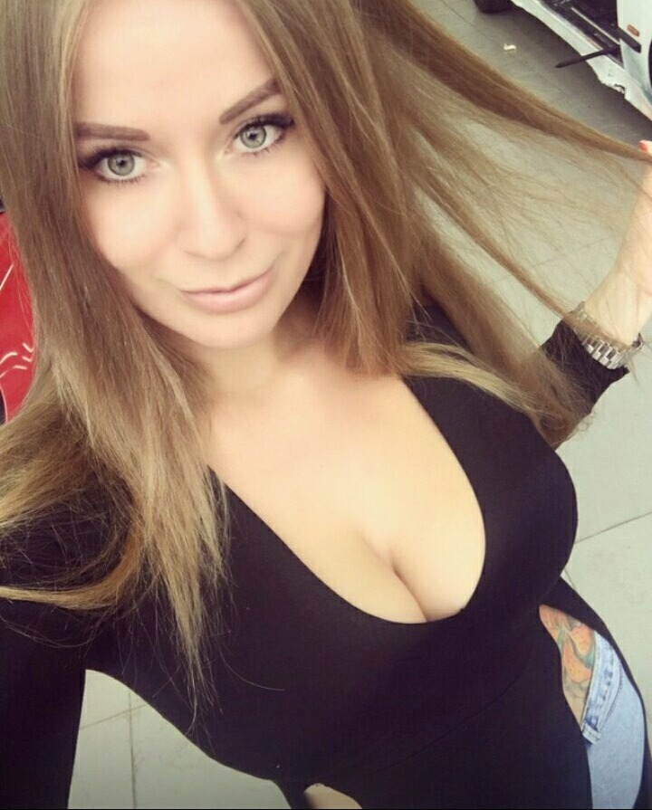 Красивая большая грудь