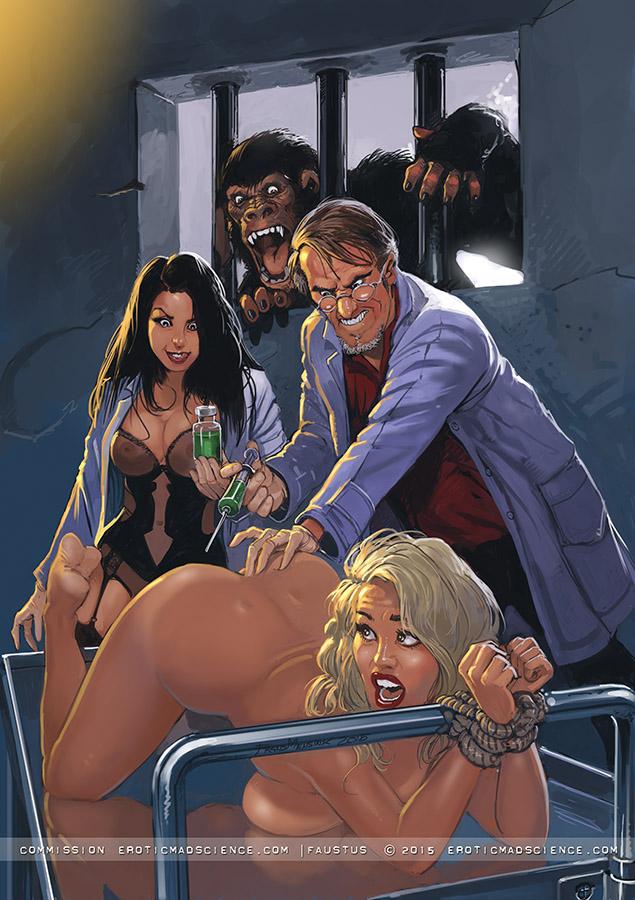 Эротический арт #11