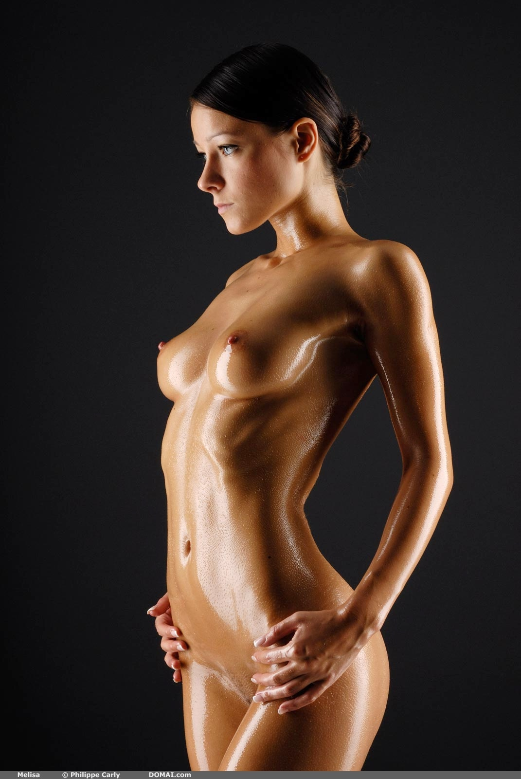 Hot naked women oiled